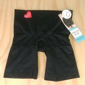 Spanx ASSETS Shapping Short Mid-Thigh Slimmer SzXL